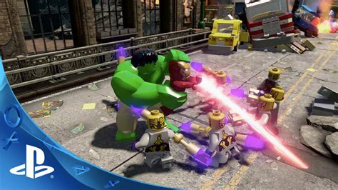 Ps4 Lego Marvel Avenger New lego marvel s smash to victory tv spot ps4 ps3 ps vita
