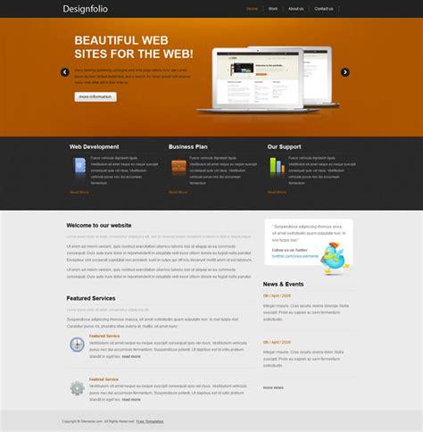 portfolio layout css designfolio portfolio css template templates perfect