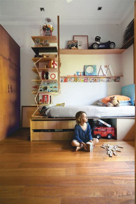 kids room shelves small space bedroom designs for your kids