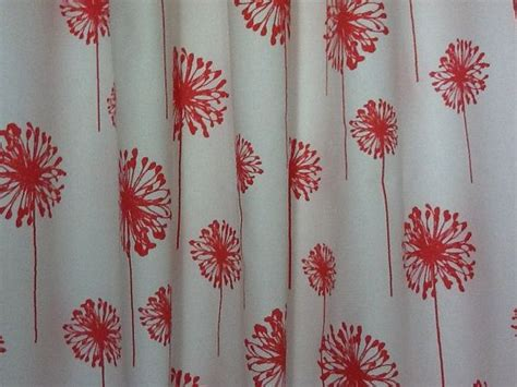 white and coral curtains custom draperies a pair of custom curtains dandelion