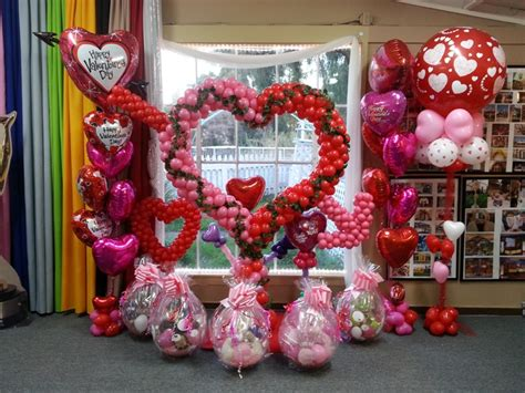 party fiesta balloon decor valentines day balloons