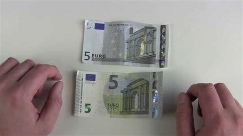 neuer  euro schein  alter  euro schein youtube
