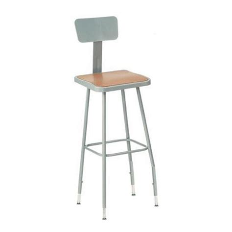 Stool Lab by National Seating 6300 Series Adjustable Heavy Duty
