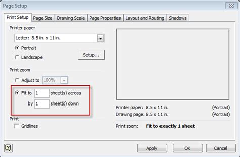 visio page setup visio 2013 how to print a diagram on one page