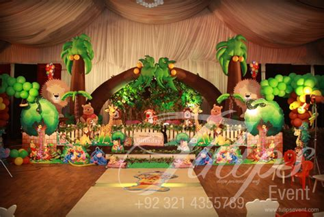 24 best kids birthday party decoration ideas at home homecoach tulips event best jungle safari birthday party theme