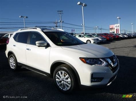 Sv White 2017 pearl white nissan rogue sv awd 117792800 gtcarlot car color galleries