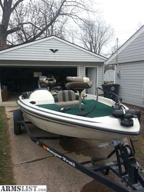 used ranger bass boats for sale in indiana armslist for sale 1998 ranger bass boat