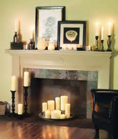 creative ways to decorate your fireplace in the season