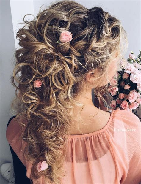 Wedding Hairstyles Curly Hair Half Up by Bridal Hairstyles For Hair Updo Hair Styles
