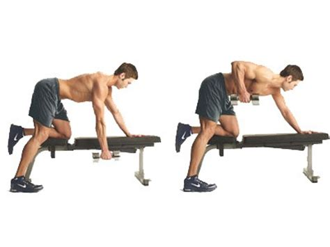 one arm dumbbell row without bench exercices pour muscler le dos avec mat 233 riel