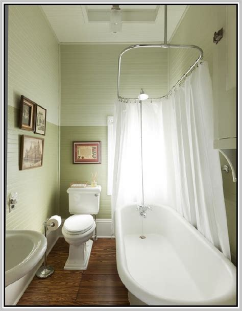 Shower Curtain Clawfoot Tub - clawfoot tub shower enclosure home design ideas