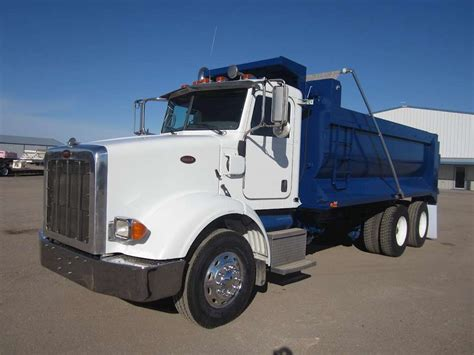 peterbilt dump truck 2008 peterbilt 365 heavy duty dump truck for sale 61 000