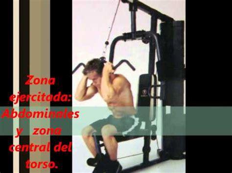 instrucciones de como usar tu gimnasio multifuncional