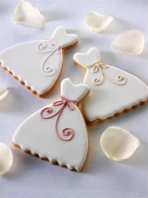 Wedding Cookie Ideas by Simple And Pretty Dress Cookies Cookies