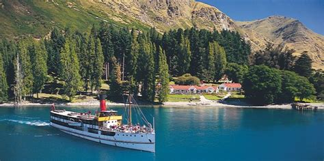 paddle boats queenstown queenstown lake cruises tss earnslaw steamship