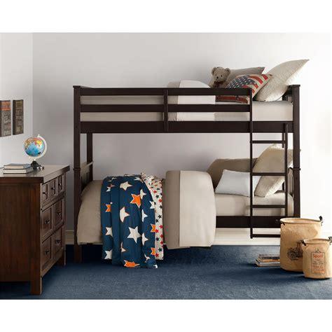 Living Home Bunk Bed Dorel Living Dorel Living Bunk Bed Espresso