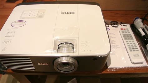 Benq Projector W1500 benq w1500 3d projector review menus image quality installation and issues