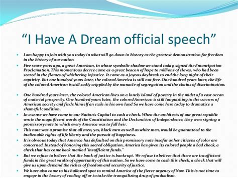 printable version of mlk i have a dream speech martin luther king jr