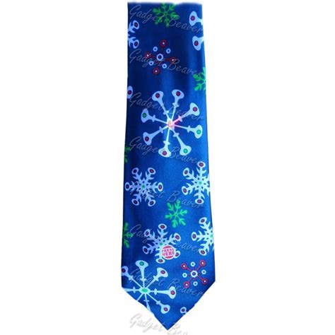 mens christmas tie musical light up novelty xmas secret