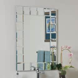 bathroom mirrors decor wonderland ssm414 1 montreal modern bathroom mirror atg stores