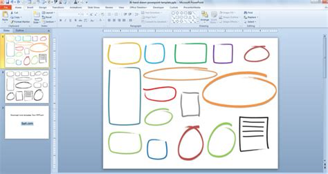 Free Hand Drawn Callouts Graphics For Powerpoint Presentations Powerpoint Graphic Templates