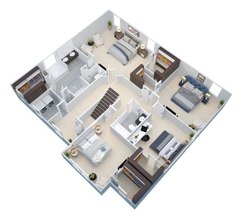 3d floor plan services virtual staging rendering group 3d floor plan exles virtual staging rendering group
