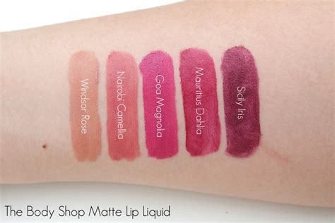 The Shop Lip Matte the shop matte lip liquid the beautynerd