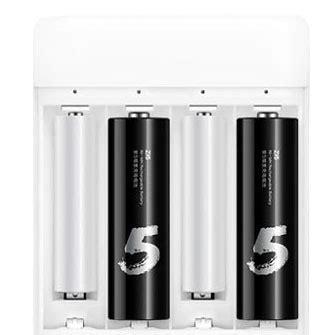 Xiaomi Zi5 Batu Baterai Cas Aa 4pcs Power Bank White xiaomi zi5 batu baterai cas aa 4pcs black