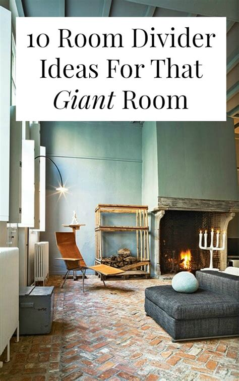 10 room divider ideas for that room