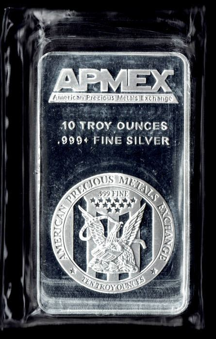 10 Troy Ounces Of Silver In Grams - apmex silver bar of 10 troy ounces 311 034768 gram 999
