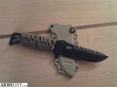 benchmade combat knife armslist for sale benchmade combat knife