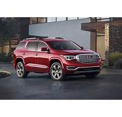 2017 GMC Acadia Red Color Wallpaper  Autocar Pictures