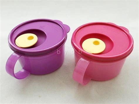Tupperware Micro Mug new tupperware pink purple microwave crystalwave soup mug