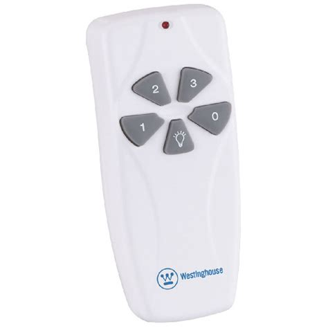 westinghouse universal ceiling fan light remote
