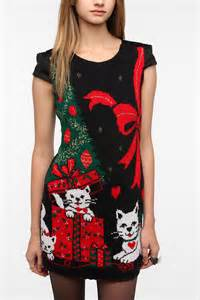 christmas sweater dress dressed up girl