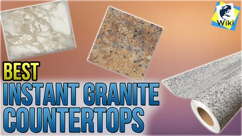 Granite Countertops Wiki by Top 10 Instant Granite Countertops Of 2019 Review