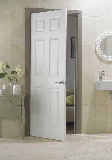 White Paneled Interior Doors 4 Panel Smooth White Primed Door