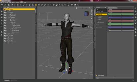 studio four daz studio descargar modelado en 3d