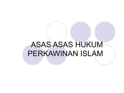 Asas Asas Hukum Adatprofbushar Muhammad kul 3 asas rukun dan syarat perkawinan islam 1