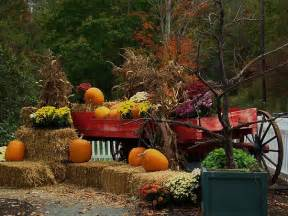 fall wagon decorations fall wagon by jeanlphotos fall decor