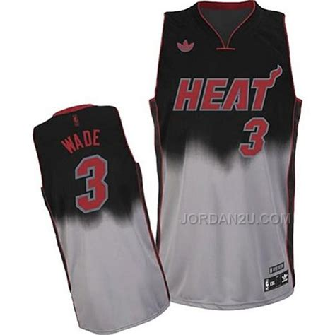 desain jersey miami heat dwyane wade miami heat fadeaway fashion swingman jersey