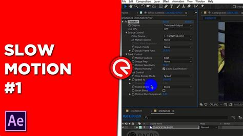 tutorial after effect slow motion slow motion in after effects part 1 twixtor plugin