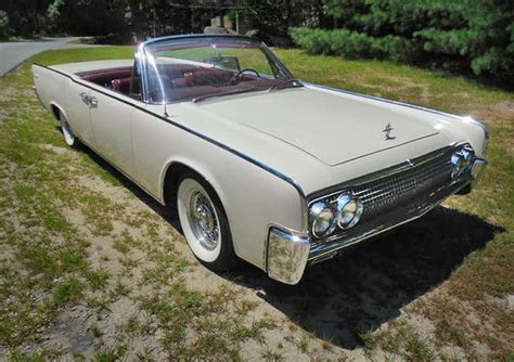 63 lincoln continental convertible pin by fish on fish