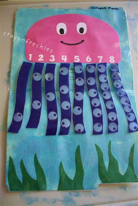 octopus math file folder fun family crafts