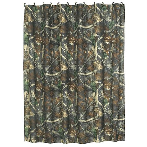 Camouflage Shower Curtains Camo Oak Shower Curtain