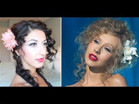 Aguilera Wants You To Be Inspired by Aguilera Burlesque Inspired Hair