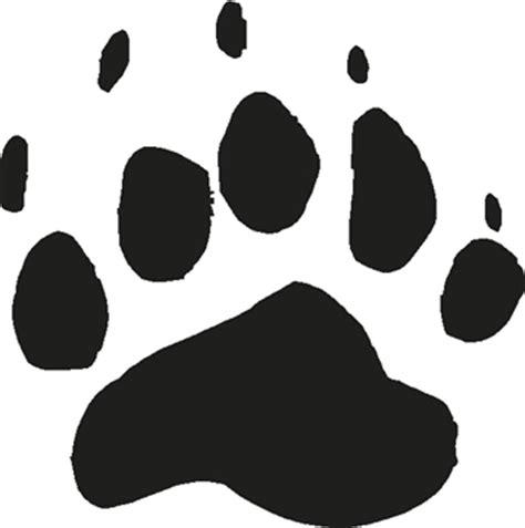 bear prints clipart best