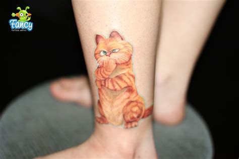 garfield tattoo 55 best tattoos images on ideas cat