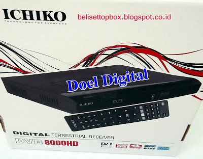 Ichiko 8000hd Set Top Box Dvb T2 set top box ichiko dvbt2 dvb8000hd termurah terbaik