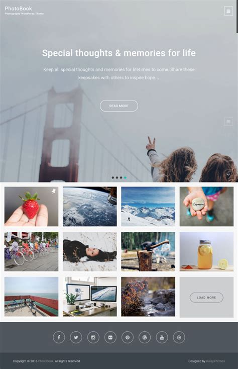 blog themes for photographers 25 free wordpress themes for photographer photo blog or